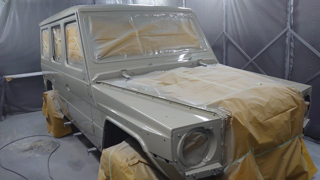 MercedesBenz Gclass custom painting