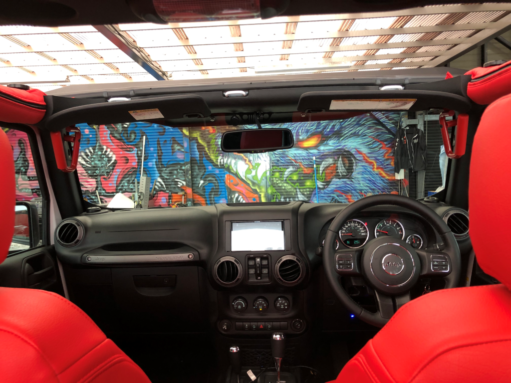 JEEP wrangler unlimited LA BAD wrangler ソフトトップエディション