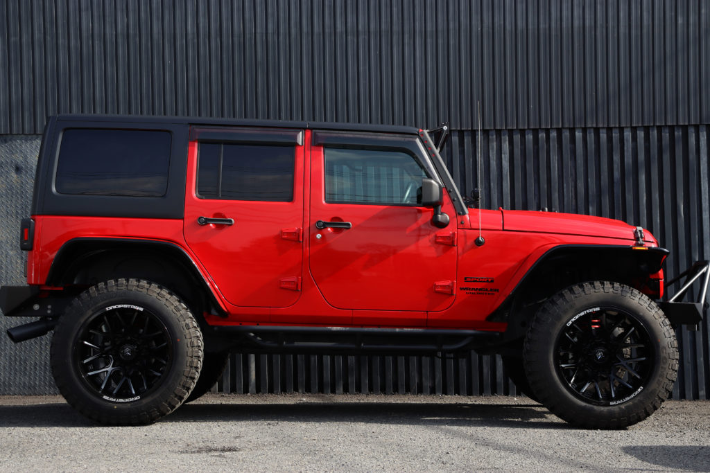 Jeep Wrangler Unlimited Sport Top Speed Full Custom