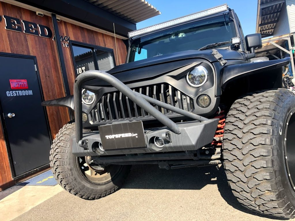 JEEEP wrangler unlimited sport TOPSPEED Full custom
